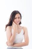 Skin care girl Stock Photos