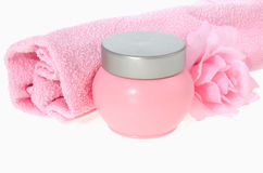 Skin Care items Stock Images