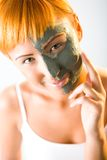 Skin care mask Stock Image