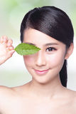 Skin care and organic cosmetics Stock Photography