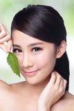 Skin care and organic cosmetics Stock Photos