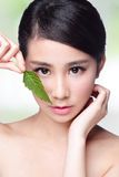 Skin care and organic cosmetics Royalty Free Stock Image