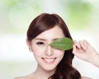 Skin care and organic cosmetics Stock Photo