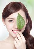 Skin care and organic cosmetics Royalty Free Stock Photography