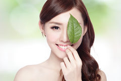 Skin care and organic cosmetics Stock Images