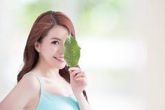 Skin care and organic cosmetics stock image