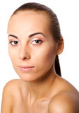 Skin care portrait Royalty Free Stock Photos