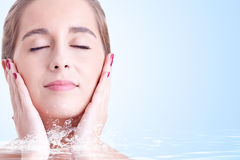 Skin care Royalty Free Stock Photography