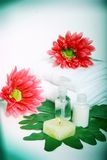 Skin care products stock images