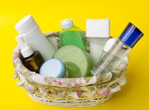 Skin care products Royalty Free Stock Image
