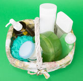 Skin care products Royalty Free Stock Photos