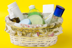 Skin care products Stock Photography