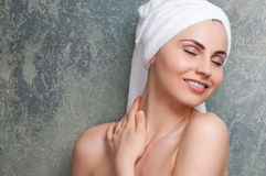 Skin care and spa treatment Royalty Free Stock Photos