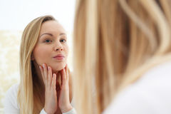 Skin care. Royalty Free Stock Images