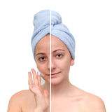 Skin care. Royalty Free Stock Photo