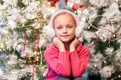 Skin, Christmas, Girl, Child Stock Image