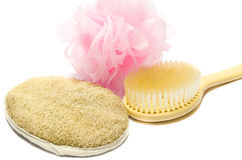 Skin cleansing products Royalty Free Stock Photo