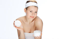 Skin cream Royalty Free Stock Photography