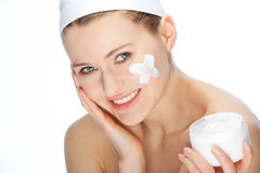 Skin cream Stock Image