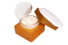 Skin Cream. Isolated on white background Royalty Free Stock Photo