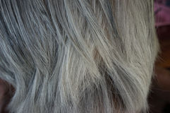 Skin of the elderly Stock Images