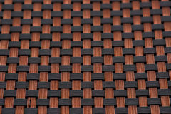 Skin fiber braided copper plating Stock Image