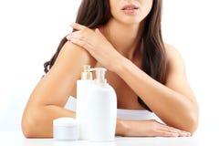 Skin hygiene Stock Photos
