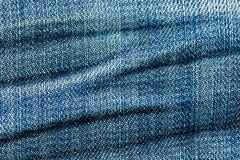 Skin of jeans background Royalty Free Stock Image