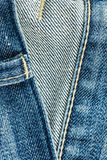 Skin of jeans Stock Photography
