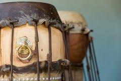 Skin making taiko drum Stock Photo