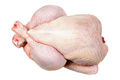 Skin of a raw chicken Royalty Free Stock Photos
