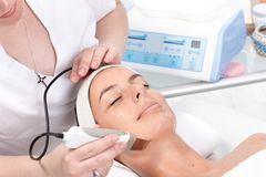 Skin rejuvenating treatment Royalty Free Stock Images