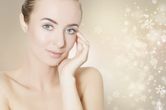 Skin revitalizing for holidays Stock Images