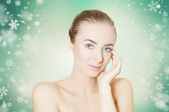 Skin revitalizing for holidays Royalty Free Stock Photo