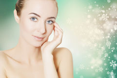 Skin revitalizing for holidays Stock Photo