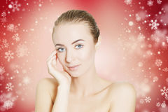 Skin revitalizing for holidays Royalty Free Stock Photos
