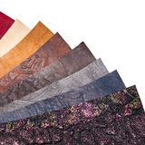 Skin samples in a variety of colors. Royalty Free Stock Photos