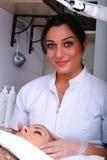 Skin treatment Royalty Free Stock Photography
