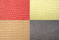 Skin wallpapers set. Reptile skin imitation. wallpapers set. textured backgrounds Royalty Free Stock Image