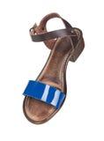 Skin women summer shoes Stock Photo