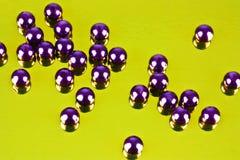 Skina pryder med pärlor Royaltyfria Bilder