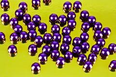 Skina pryder med pärlor Royaltyfri Bild