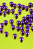 Skina pryder med pärlor Royaltyfria Foton