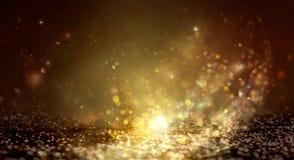 Skinande abstrakt bakgrund för nytt år arkivbild