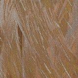 Skinande dammig metallisk sand texturerade abstrakt bakgrund Tonat borsteslaglängdkonstverk Glitter spridde på grungy grov ytters stock illustrationer