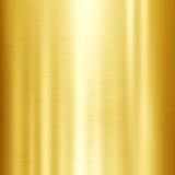 Skinande guld- metalltexturbakgrund arkivbilder