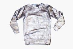 Skinande hoodie för metall Arkivbild