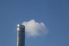 Skinande nytt Shanghai torn Royaltyfria Bilder