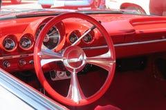 Skinande rött hjul! Royaltyfria Bilder