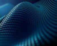 Skinande reflekterande bakgrund för abstrakt begrepp för teknologi för metallplatta Royaltyfri Bild
